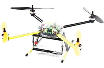 Quadcopter Model Q1 | CITL Projects
