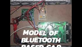 Embedded thumbnail for Bluetooth based car monitoring